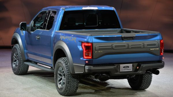 2017 Ford F-150 Raptor SuperCrew - Rear View