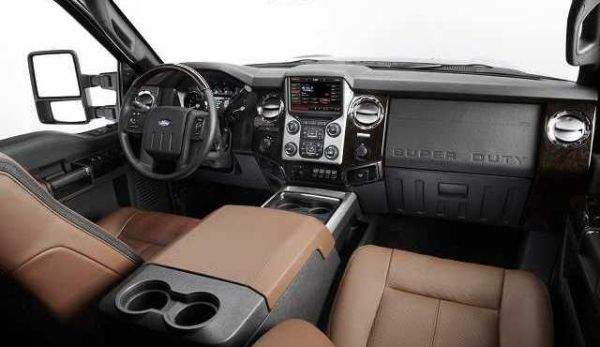Ford F 250 Super Duty 2017 - Interior