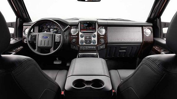 Ford F-350 2017 - Interior