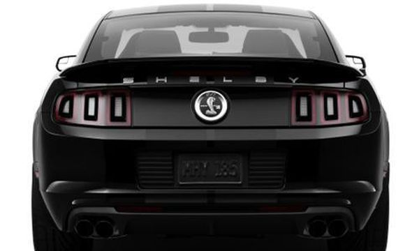 Ford Mustang Shelby GT500 2015 - Rear View