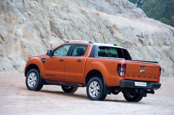 Ford Ranger Wildtrak 2016 - Rear View