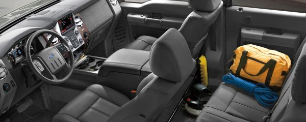 Ford Super Duty Truck 2015  - Interior