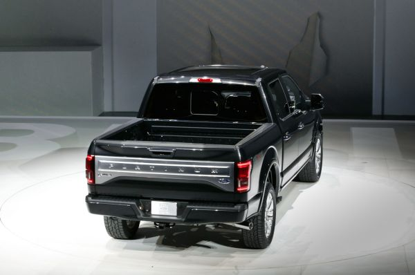 Rear View of 2015 Ford – F 150