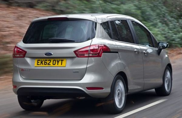 Rear View of 2015 - Ford B-Max