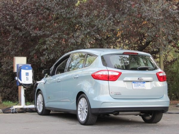 Rear View of 2015 - Ford C-MAX Energi