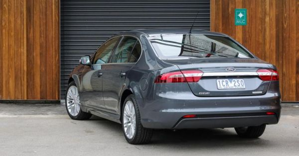 Rear View of 2015 Ford Falcon - G6E