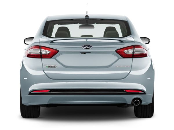 Rear View of 2015 Ford Fusion Energi