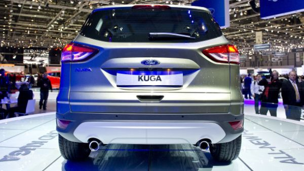 Rear View of 2015 Ford -  Kuga