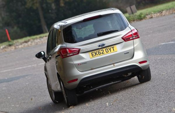 Rear View of 2016 - Ford B-Max