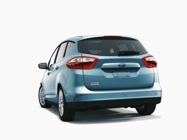 Rear View of Ford C-Max Energi 2016