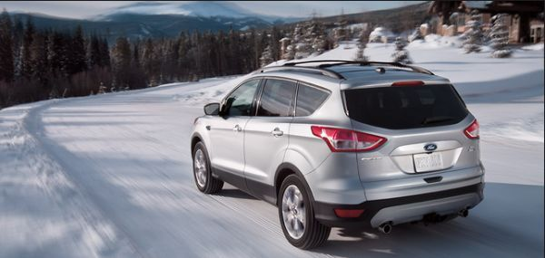 Rear View of 2016 Ford - Escape Hybrid