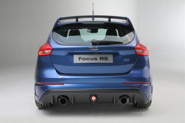 Rear View of 2016 Ford Focus RS