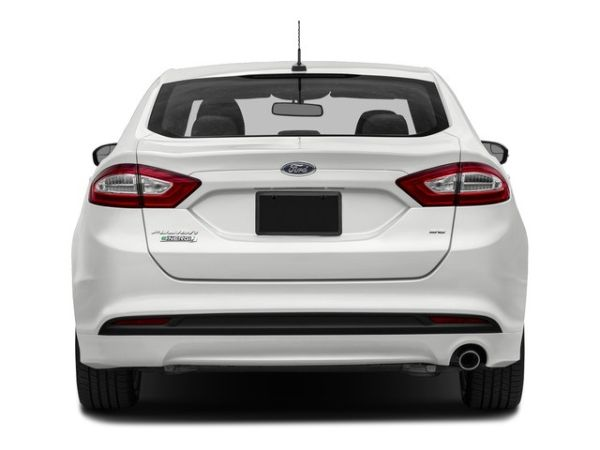 Rear View of 2016 - Ford Fusion Energi