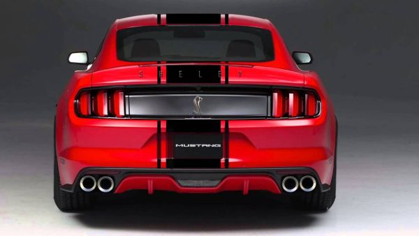 Rear View of 2016 Ford - Mustang GT