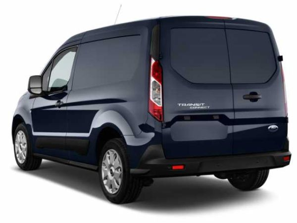 Rear View of 2016 Ford Transit