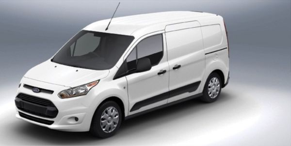 Side View of 2016 Ford Transit