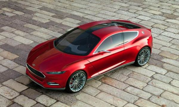 Top View of 2016 Ford Thunderbird